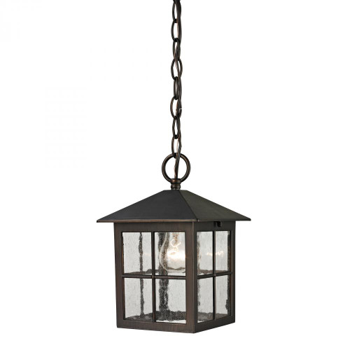 Elk Cornerstone Shaker Heights Pendant Lantern In Hazelnut Bronze 8201Eh/70