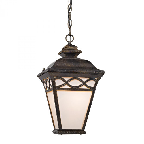 Elk Cornerstone Mendham 1 Light Pendant Lantern In Hazelnut Bronze 8561Eh/70
