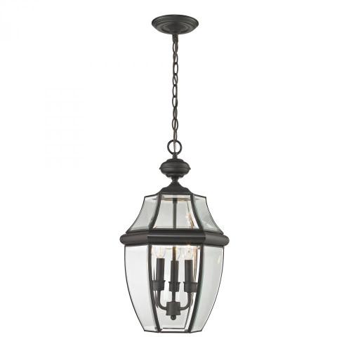 Elk Cornerstone Ashford 3 Light Exterior Hanging Lantern In Oil Rubbed Bronze 8603Eh/75