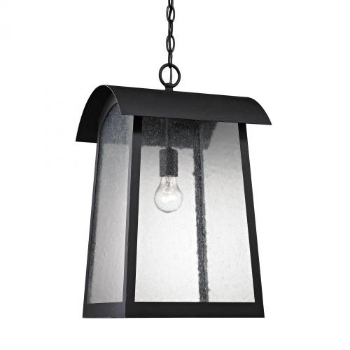 Elk Cornerstone Prince Street 1 Light Exterior Hanging Lamatte Blackp In Matte Black 8721Eh/65