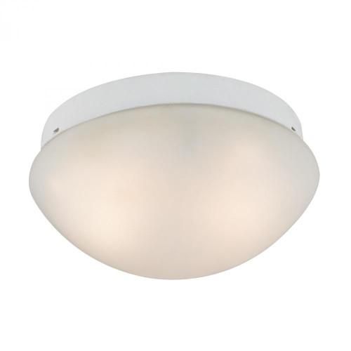 Elk Cornerstone 2 Light Mushroom Flushmount In White 7352Fm/40
