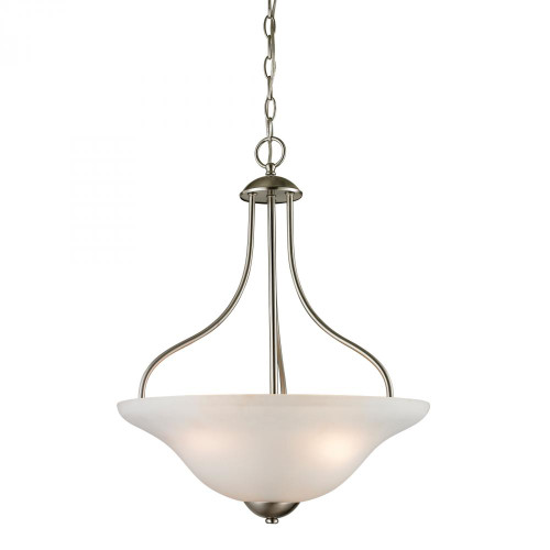 Elk Cornerstone 18 Inch Conway Nickel Pendant Light-1203PL/20