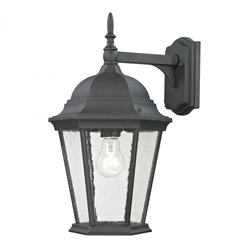 Elk Cornerstone Temple Hill Coach Lantern In Matte Textured Black 95X18 8101Ew/65