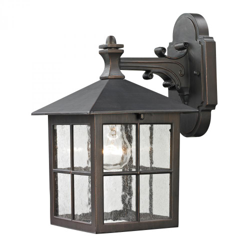 Elk Cornerstone Shaker Heights Coach Lantern In Hazelnut Bronze 8201Ew/70