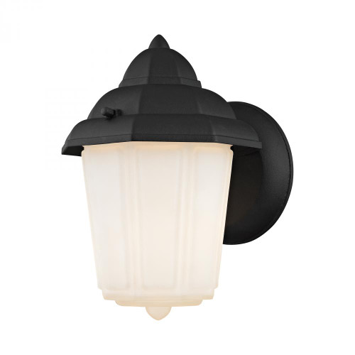 Outdoor Lights By Elk Cornerstone 1 Light Outdoor Wall Sconce In Matt Black 6x9 9211EW/65
