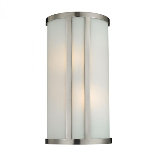Elk Cornerstone 2 Light Wall Sconce In Brushed Nickel 5102Ws/20