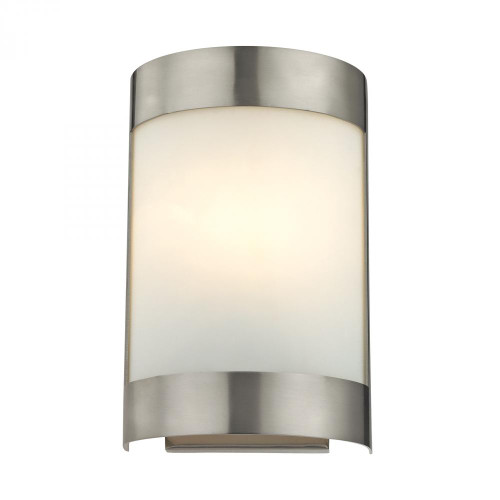Elk Cornerstone 1 Light Wall Sconce In Brushed Nickel 65X10 5181Ws/20