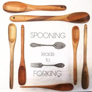 Spooning/Forking Towel