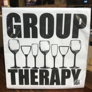 Group Therapy Cocktail Napkins