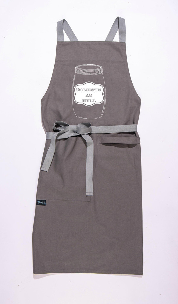 Domestic As Hell Apron