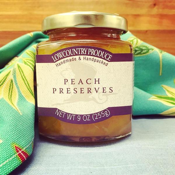 Lowcountry Peach Preserves