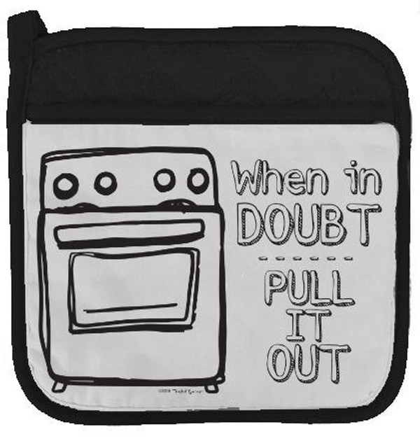 Pull It Out Potholder