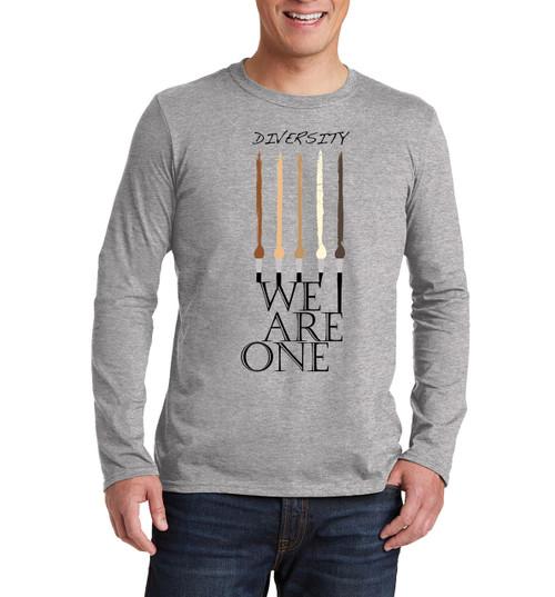 We Skin Color Diversity Long sleeve T shirt