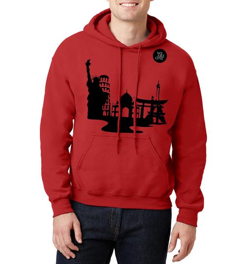 We Are One World  Sweatshirt