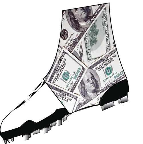 Money  Spats  (cleat covers)