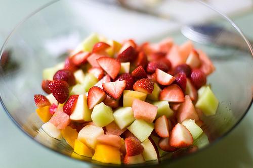 | Fruitsalade |