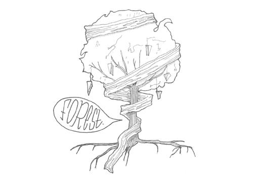   Forest : broodje belegd met brie, gerookt spek, rucola, honing, mosterddressing en pijnboompitjes.  