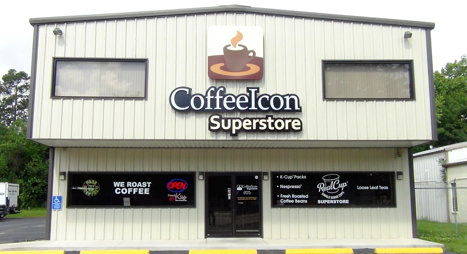 Coffee Icon - Tomball Store Location
