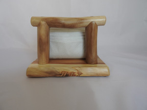 Aspen Log Napkin Holder No4