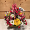 Blooming Birthday Basket - SCF18D23 - Send Birthday Flowers - Same day delivery throughout Western New York