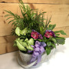 Purple Country Garden - Large by Savilles Country Florist.  Delivering plants throughout Buffalo and surrounding suburbs.