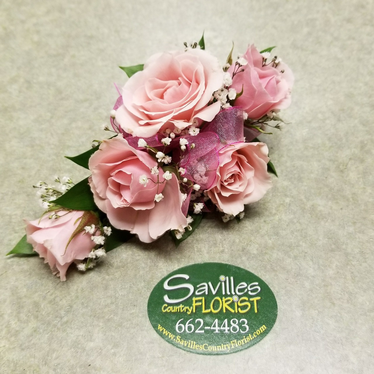 Pretty In Pink Corsage Savilles Country Florist
