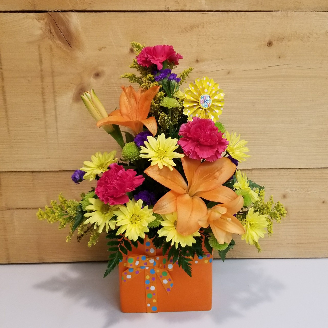 Set To Celebrate Birthday Bouquet BD1 By Savilles Country Florist Flowers And