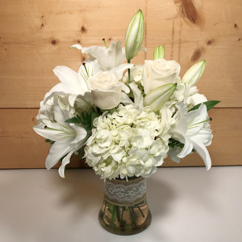 Heaven Scent (SCF17S55) by Savilles Country Florist. Flower delivery to Orchard Park, Hamburg, West Seneca, East Aurora, Buffalo, NY and surrounding suburbs.