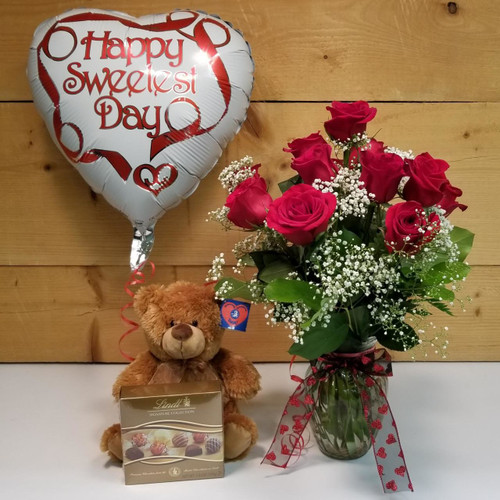 Sweetest Day Bundle (SCF18SD01) by Savilles Country Florist.  Flower and Plant delivery to Orchard Park, NY and the surrounding area including same day delivery to Hamburg, West Seneca, East Aurora, Blasdell and Buffalo NY