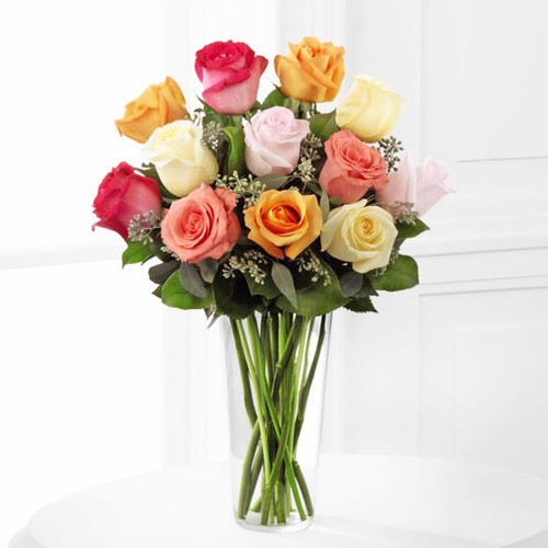 Graceful Grandeur One Dozen by Savilles Country Florist. Flower delivery to Orchard Park, Hamburg, West Seneca, East Aurora, Buffalo, NY and surrounding suburbs.