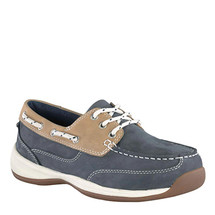 Rockport Works Women's Steel Toe Sailing Club Work Shoes