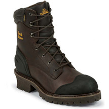 Chippewa 55051 Composite Toe Non-Insulated Chocolate Oiled Work Boots
