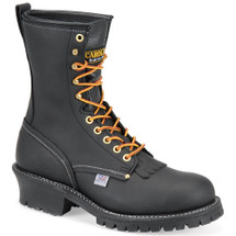 Carolina 1922 USA Steel Toe Non-Insulated Black Logger Boots