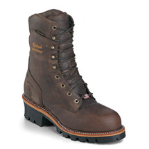 Chippewa 25408 USA Soft Toe Insulated Super Logger Boots
