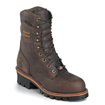 Chippewa 25408 USA Soft Toe Insulated Super Logger Boots