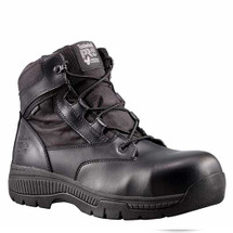 Timberland Pro #1161A001 Valor Composite Toe Side Zip Tactical Police Duty Boots