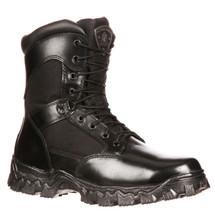 Rocky AlphaForce #6173 Composite Toe Side Zipper Police Duty Boots