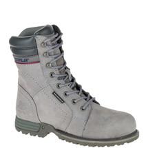 CAT Women's Grey Echo Waterproof Steel Toe Work Boots