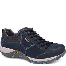 Dansko Paisley Sneaker Navy Milled Nubuck