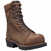 Timberland Pro 89656214 Rip Saw 9 Inch Insulated Waterproof Composite Toe Logger Boot