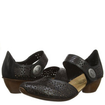 Rieker Women's  43711-00 Mirjam 11 Mary Jane Black