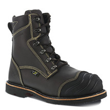 """Iron Age IA0120-1 Thermo Shield 8"""" Smelter Boots"""