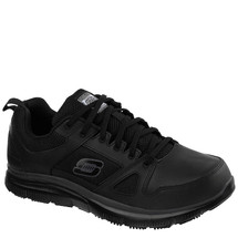 Skechers Work 77040 Relaxed Fit Flex Advantage Slip Resistant Work Shoes