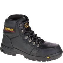 """CAT P90800 Men's Outline 6"""" Steel Toe Black Work Boot"""