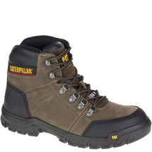 "CAT P90802 Men's Outline 6"" Steel Toe Dark Grey Gull Work Boot"