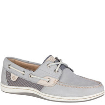 Sperry STS81284 Women's Koifish Mesh Grey Boat Shoes