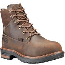 Timberland PRO Women's Hightower Brown Waterproof Safety Toe Work Boots