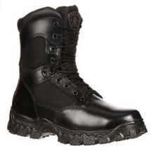 Rocky AlphaForce #2173 Waterproof Soft Toe Police Duty Boots Zipper