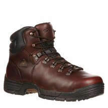Rocky Wide Steel Toe #6114  Work Boots