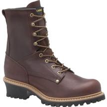 "Carolina 1821 8"" Briar Steel Toe Non-Insulated Unlined Logger Boots"